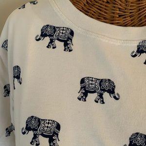 Forever 21 Elephant Sweatshirt